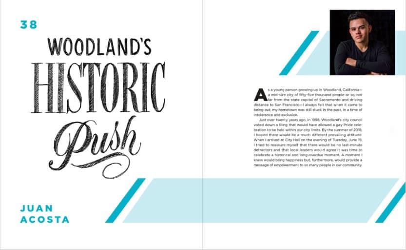 Woodland's Historic Push by Juan Acosta